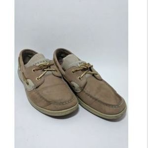 Sperry Top-Sider Rose Fish Boat Brown Suede